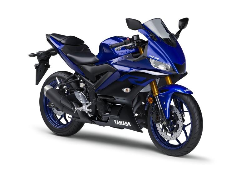 YZF-R3 ABSが倒立式Fサスや新デザインのカウルなどを採用してモデルチェンジ