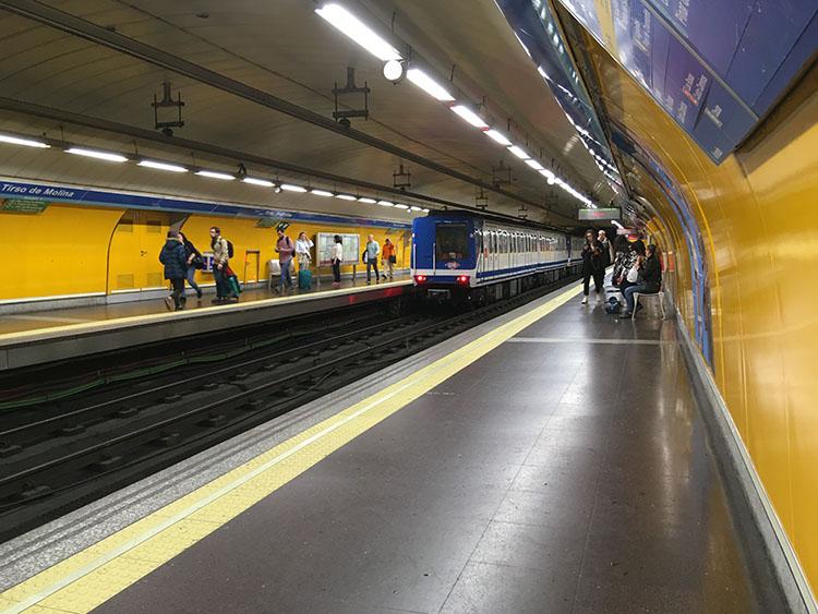 メトロ1号線ティル・ソ・デ・モリーナ駅