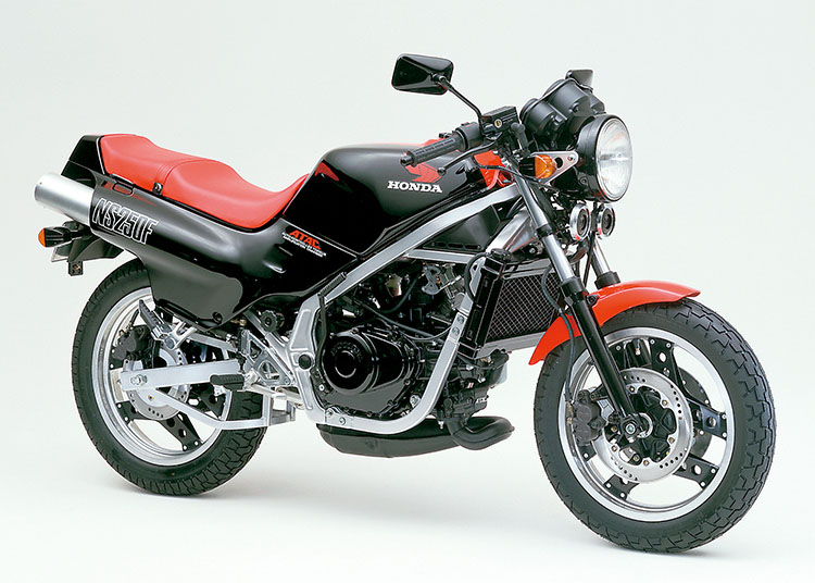 NS250F ブラック