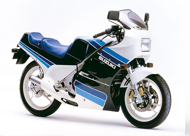 RG250Γ ブルー×ホワイト