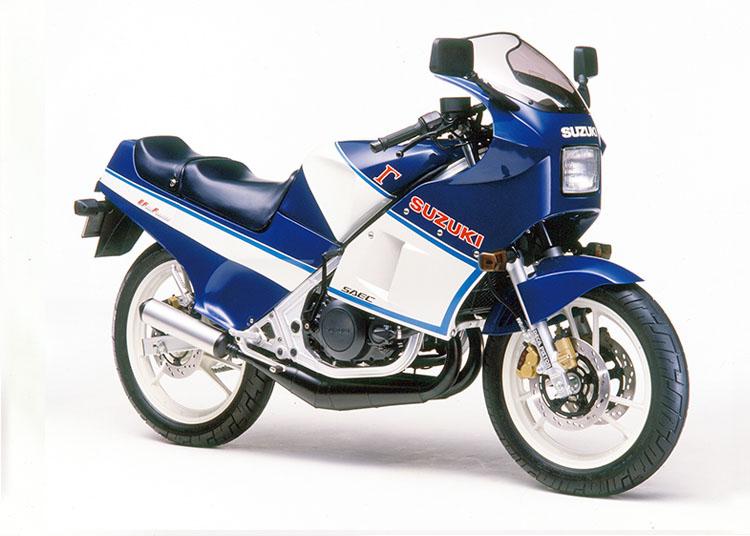 RG250Γ ホワイト×ブルー