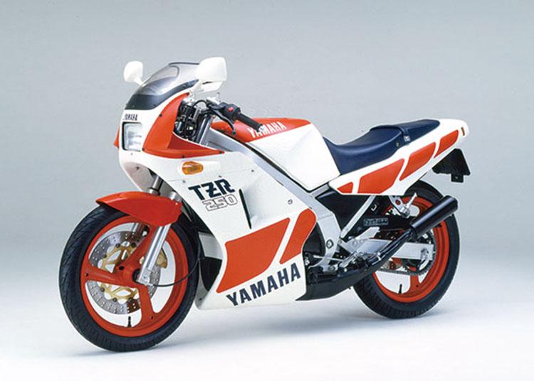 TZR250 ホワイト