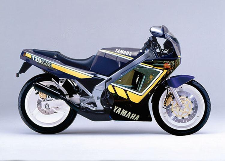 TZR250 ヤマハニューブラック