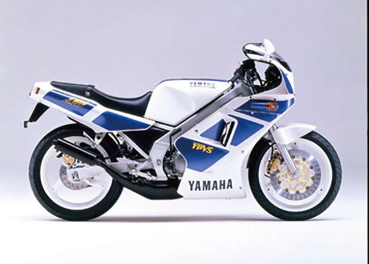 TZR250 シルキーホワイト×ソフィアブルー