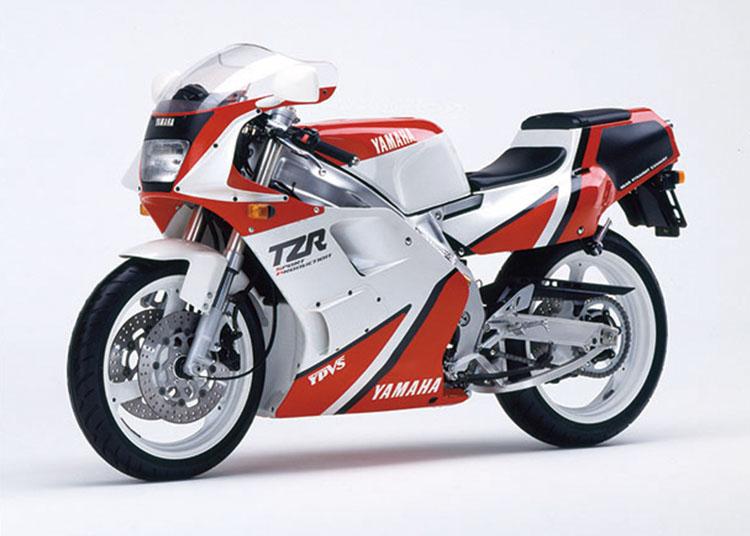TZR250 SP シルキーホワイト×ファインレッド
