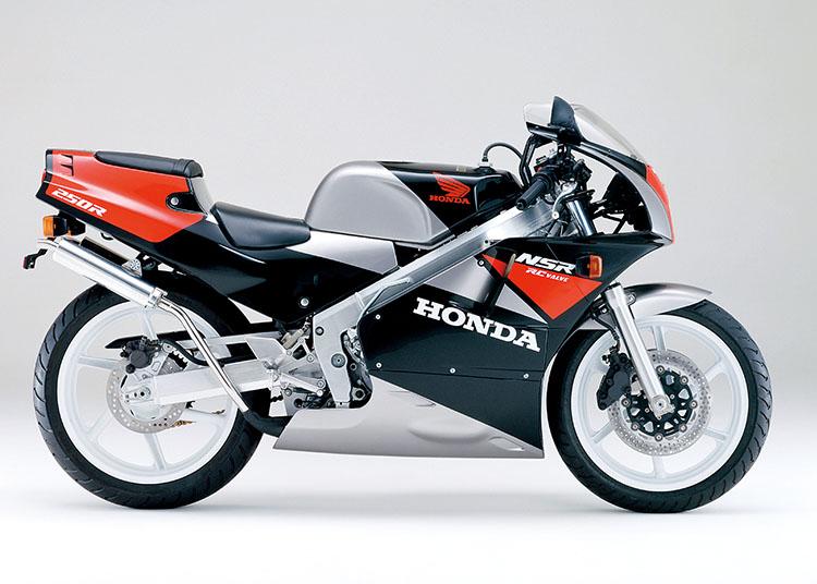 NSR250R ブラック×シードシルバーメタリック