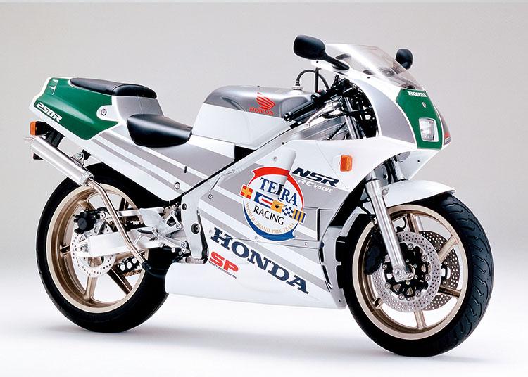 NSR250R SP ロスホワイト×テラシルバー×ノーベンバーシルバー