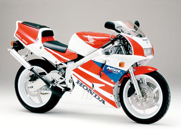 NSR250R ロスホワイト×ファイティングレッド