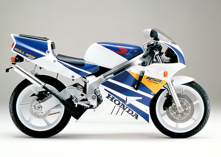 NSR250R ロスホワイト×テラブルー