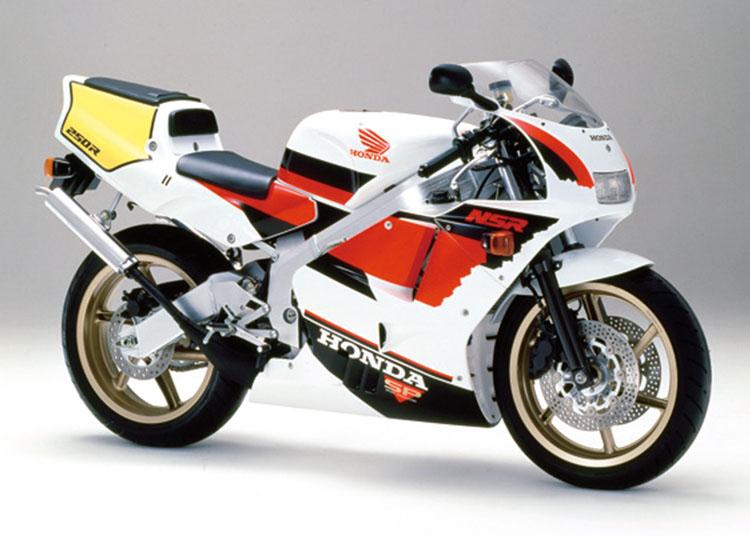 NSR250R SP ロスホワイト×ファイティングレッド