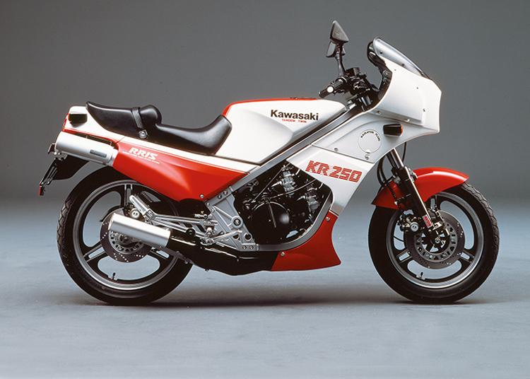 KR250 ポーラホワイト×サンビームレッド