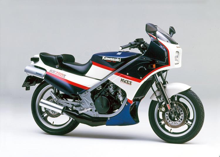 KR250S ルミナスポラリスブルー×パールアペンホワイト