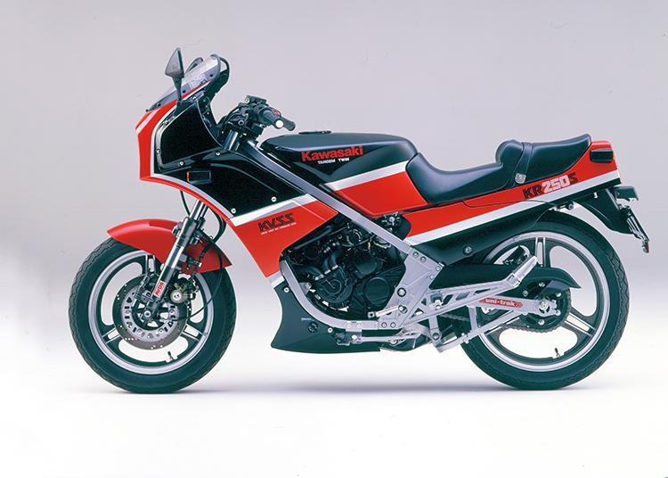 KR250S エボニー×ファイアクラッカーレッド