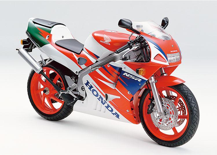 NSR250R ロスホワイト×スパークリングレッド