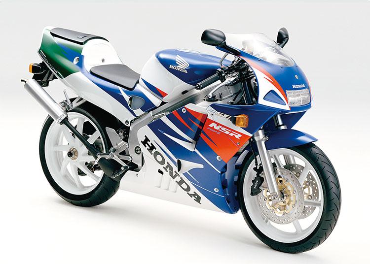NSR250R SE ロスホワイト×リアルブルー