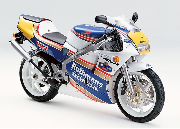 NSR250R SP ロスホワイト×リアルブルー