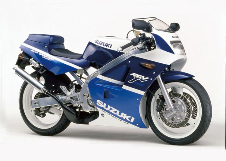 RGV250Γ SP ブルー・ホワイトツートン