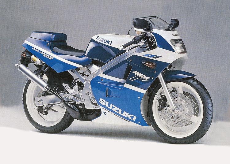 SUZUKI RGV250Γ SP ブルー・ホワイトツートン