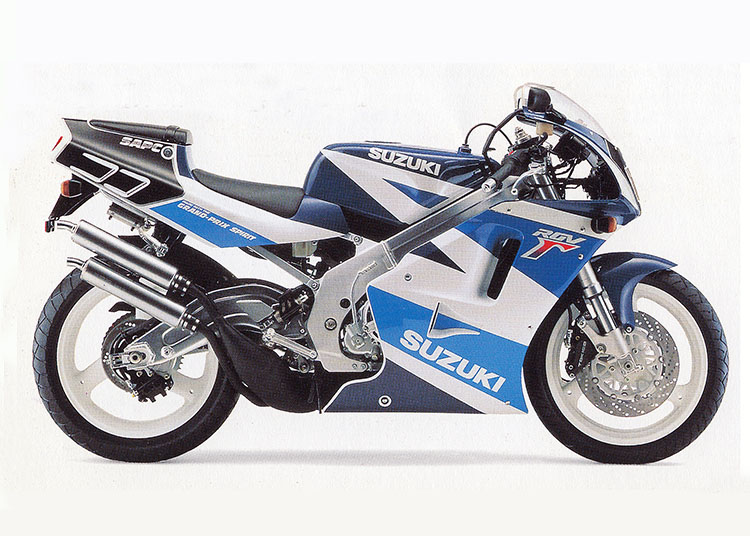 RGV250Γ SP/SPII ブルー・ホワイトツートン