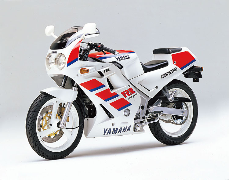 FZR250(3HX1) シルキーホワイト×ファインレッド