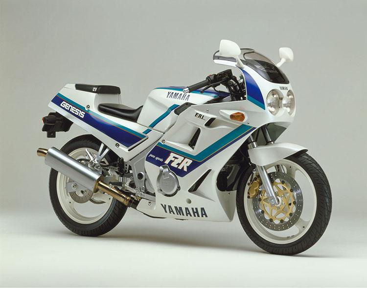FZR250(3HX2) シルキーホワイト×ダイナステイブルー(8月追加)