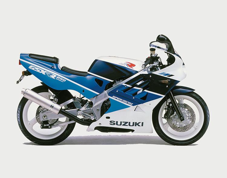GSX-R250R(GJ73A) ブルー・ホワイトツートン