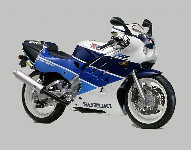 GSX-R250RSP(GJ73A) ブルー・ホワイトツートン