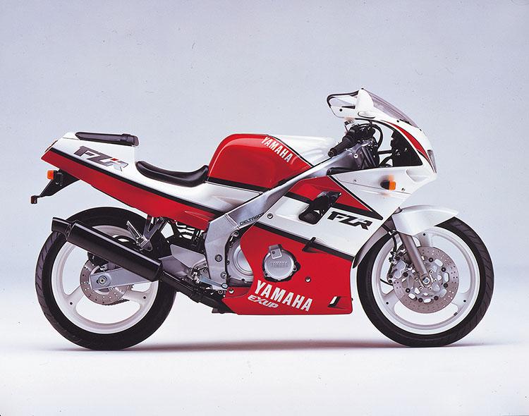 FZR250R(3LN3) シルキーホワイト×アップルレッド