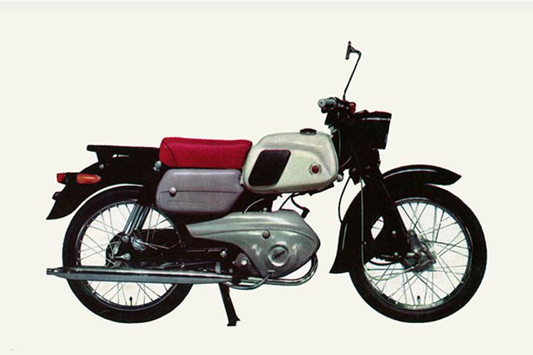 1962年 ブリヂストン BSチャンピオン3型