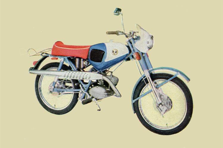 1962年 山口自転車工場 オートペットSPB