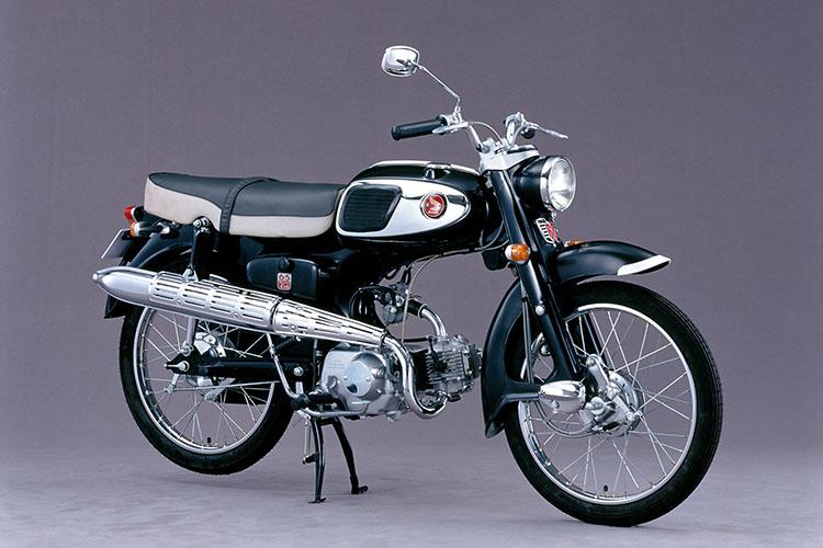 1965年 HONDA ベンリイCS50 (写真は兄弟モデルのCS65)