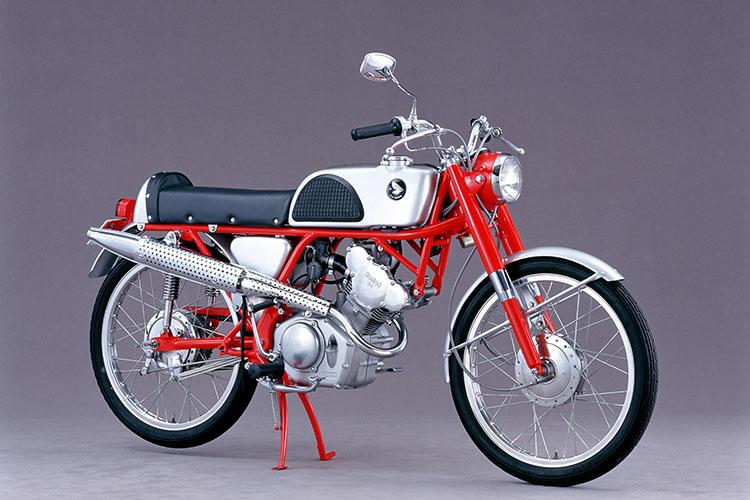 1962年 HONDA カブレーシングCR110
