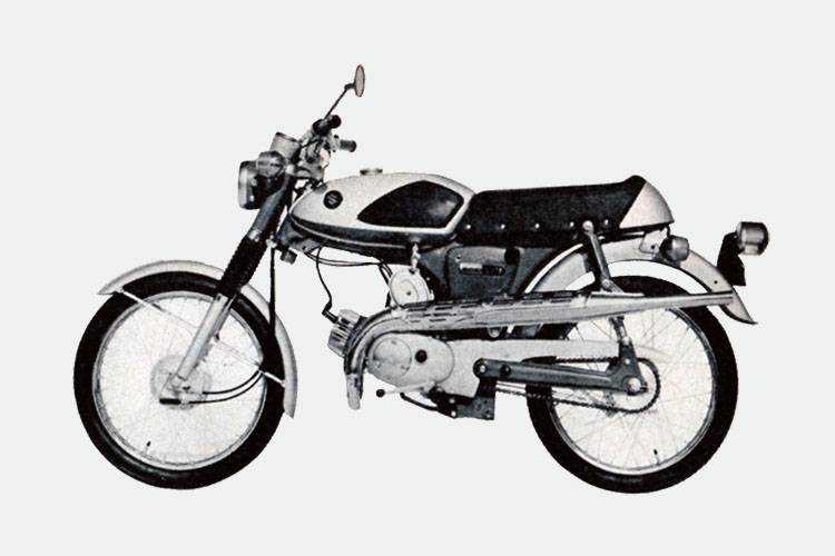 1968年 SUZUKI AS50