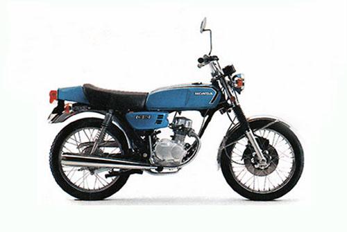 1973年5月 ベンリイCB50JX キャンディリビエラブルースペシャル0