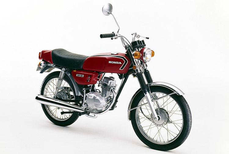 1973年5月 ベンリイCB50 ファイヤーレッド