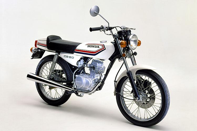 1978年3月 ベンリイCB50JX-Ⅰ セラミックホワイト