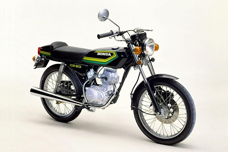 1978年3月 ベンリイCB50JX-Ⅰ ブラック