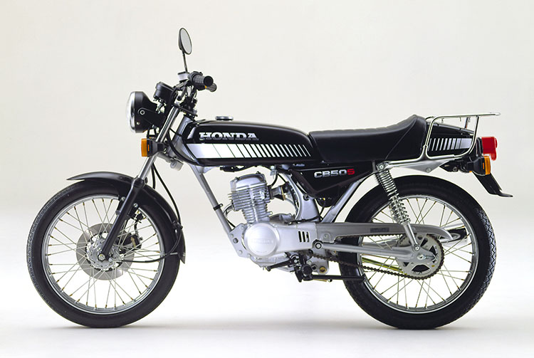 1981年2月 CB50S ブラック