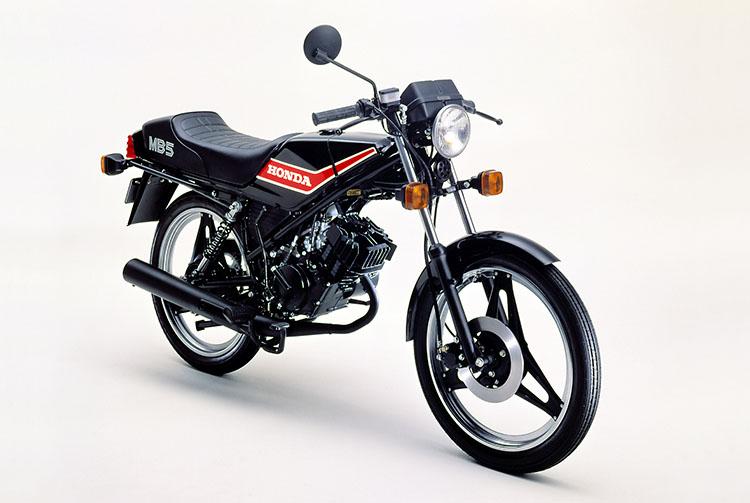 1980年6月 MB50 ブラック