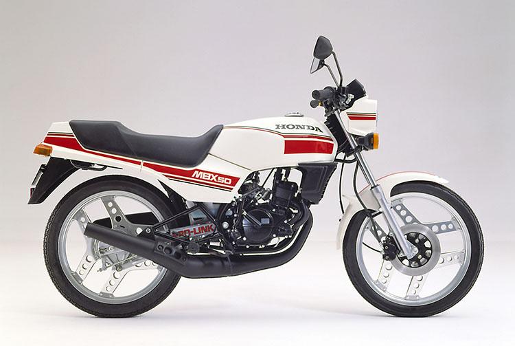1982年3月 MBX50 コルチナホワイト