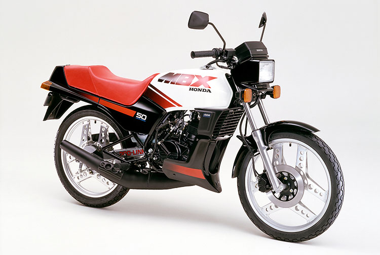 1984年4月 MBX50 シャスタホワイト