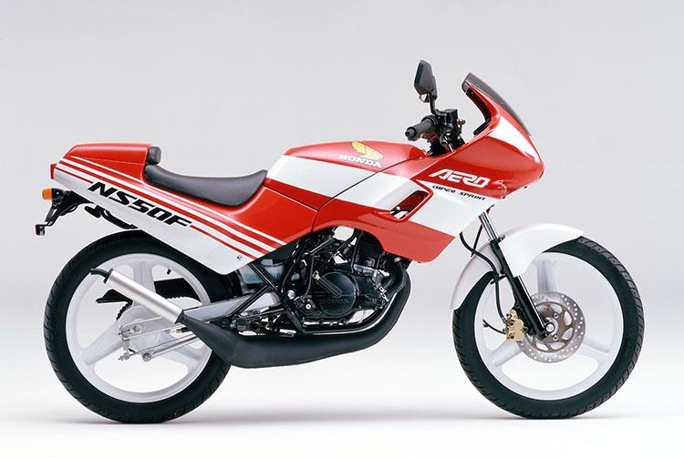 1988年2月 NS50Fエアロ ファイティングレッド