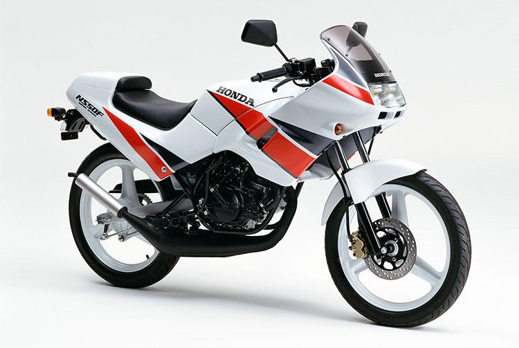 1990年2月 NS50F ロスホワイト