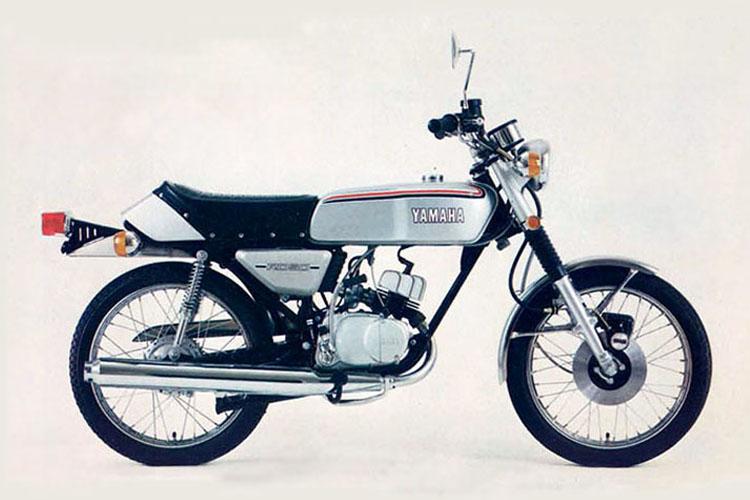 1974年3月 RD50 シルバーダスト