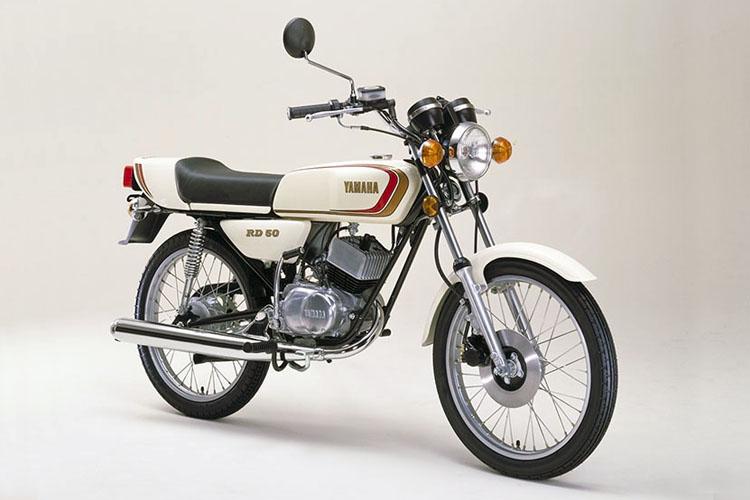 1978年12月 RD50(2U2) ニューホワイト