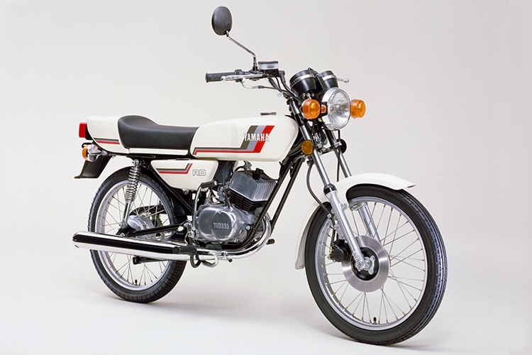 1980年7月 RD50(4M9) ニューホワイト
