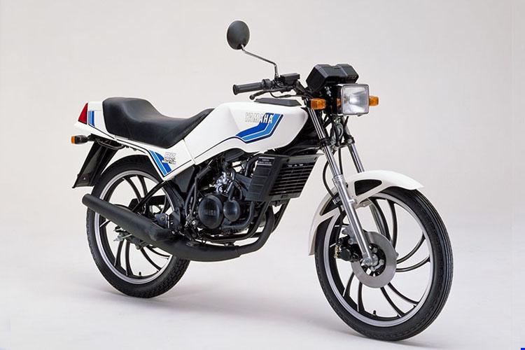 1981年6月 RZ50 ホワイト