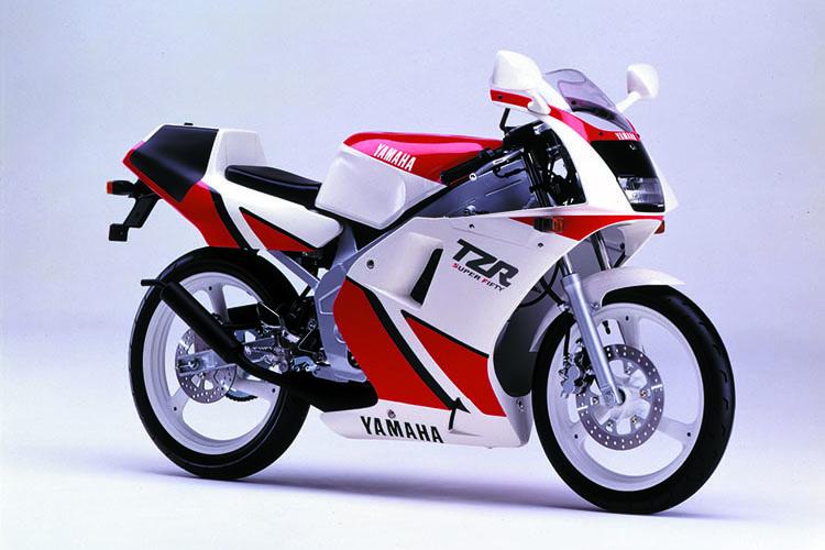 1990年2月 TZR50(3TU1) ホワイト×ファインレッド