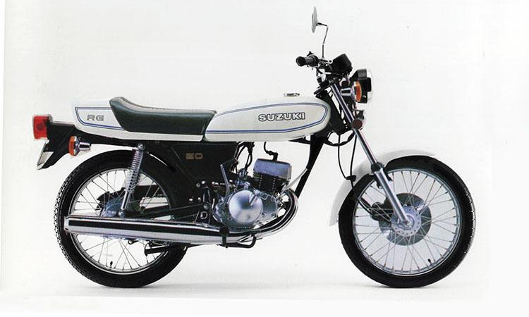 1977年1月 RG50 イーグレットホワイト