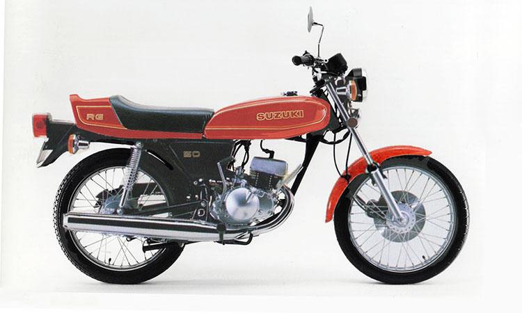1979年10月 RG50 マーブルピュアーレッド